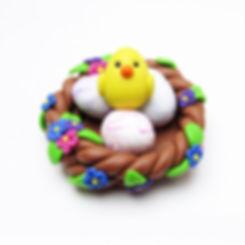 Easter nest ornament