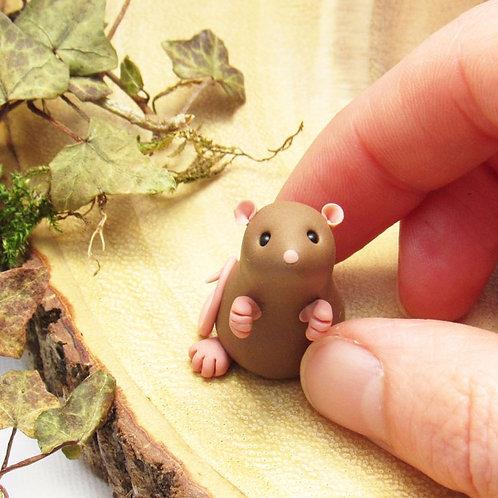 Tiny rat ornament