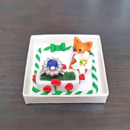 Fox ring box