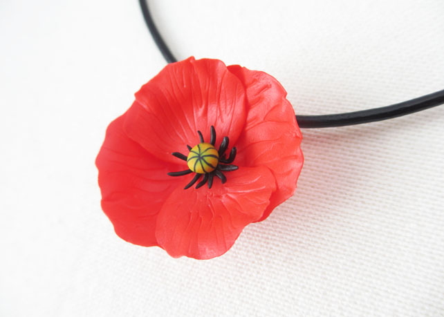 British wildflower jewellery