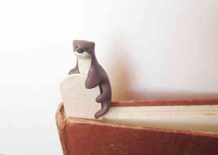 Otter bookmark