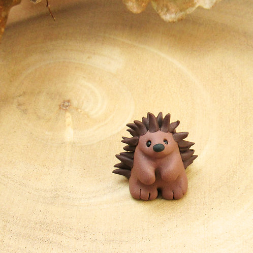 Tiny hedgehog ornament