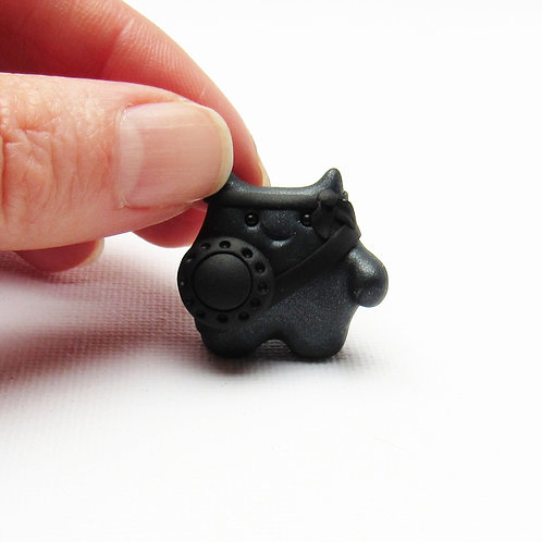 Black brave warrior ornament
