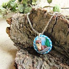 Handmade Otter Necklace
