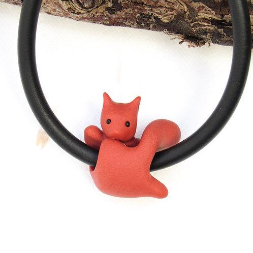 Red squirrel jewellery - squirrel bracelet