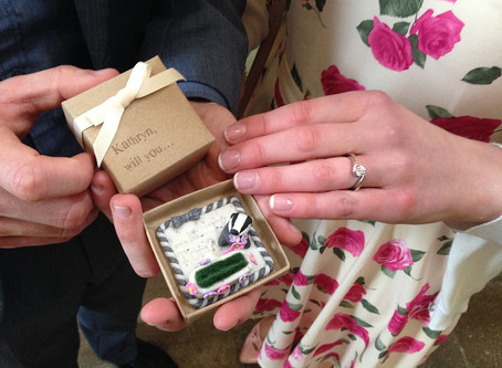 Badger engagement ring box continued - The wedding