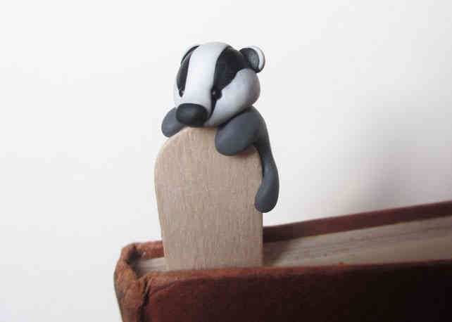 Badger bookmark