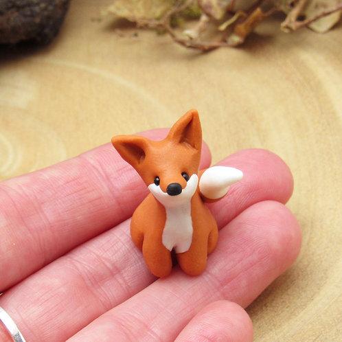 Tiny fox ornament