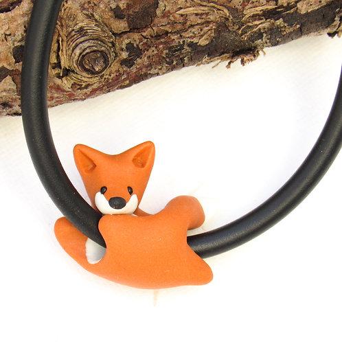 Fox jewellery - fox charm bracelet