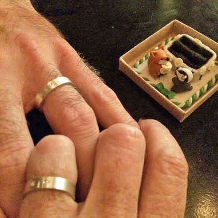 Double proposal ring box