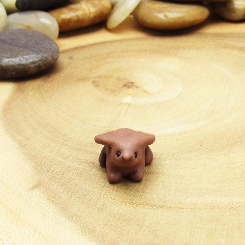 Tiny rabbit ornament
