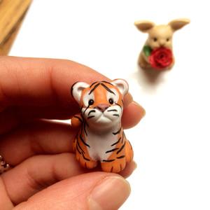 Tiny tiger ornament