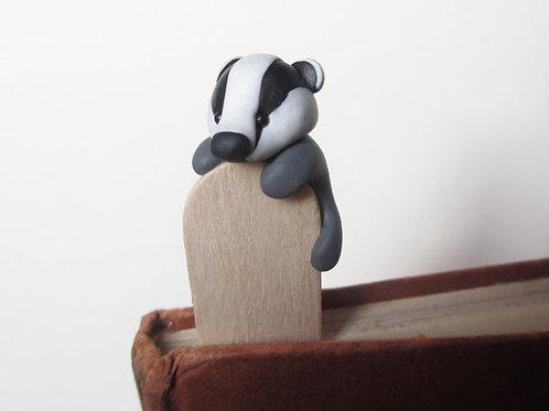Badger bookmark