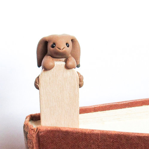 Hare bookmark front