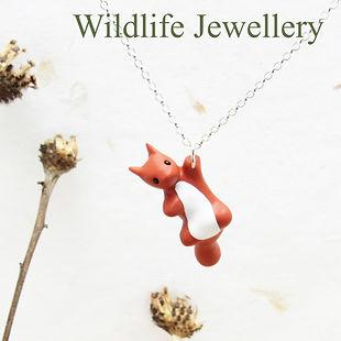 Handade British Wildlife Jewellery