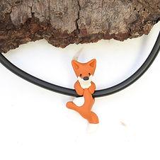 Fox Choker Necklace