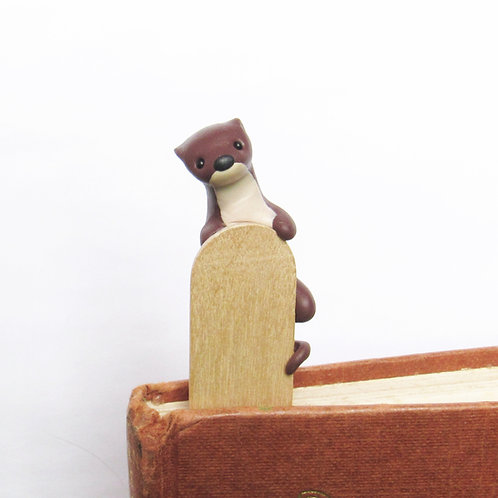 Otter bookmark