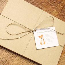 Recycled Woodland Animal Writing Paper Gift Set