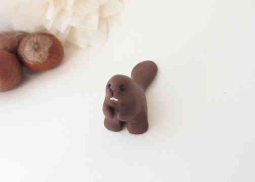 Beaver miniature