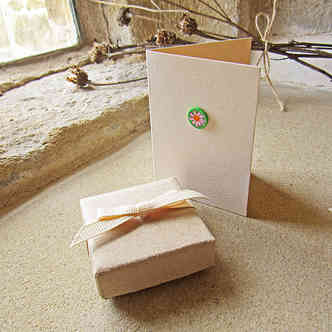 Handmade gift box and card