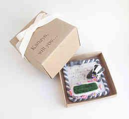 Badger ring box