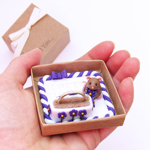 Rat proposal ring box