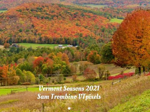 Vermont Seasons by Sam Trombino