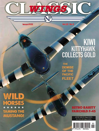 Classic Wings P51 Mustang