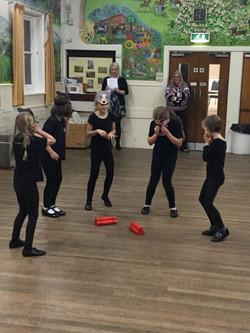 Group 1 xmas '16 silent movie dance
