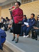 Mam Lindiwe Ndzala School Principal