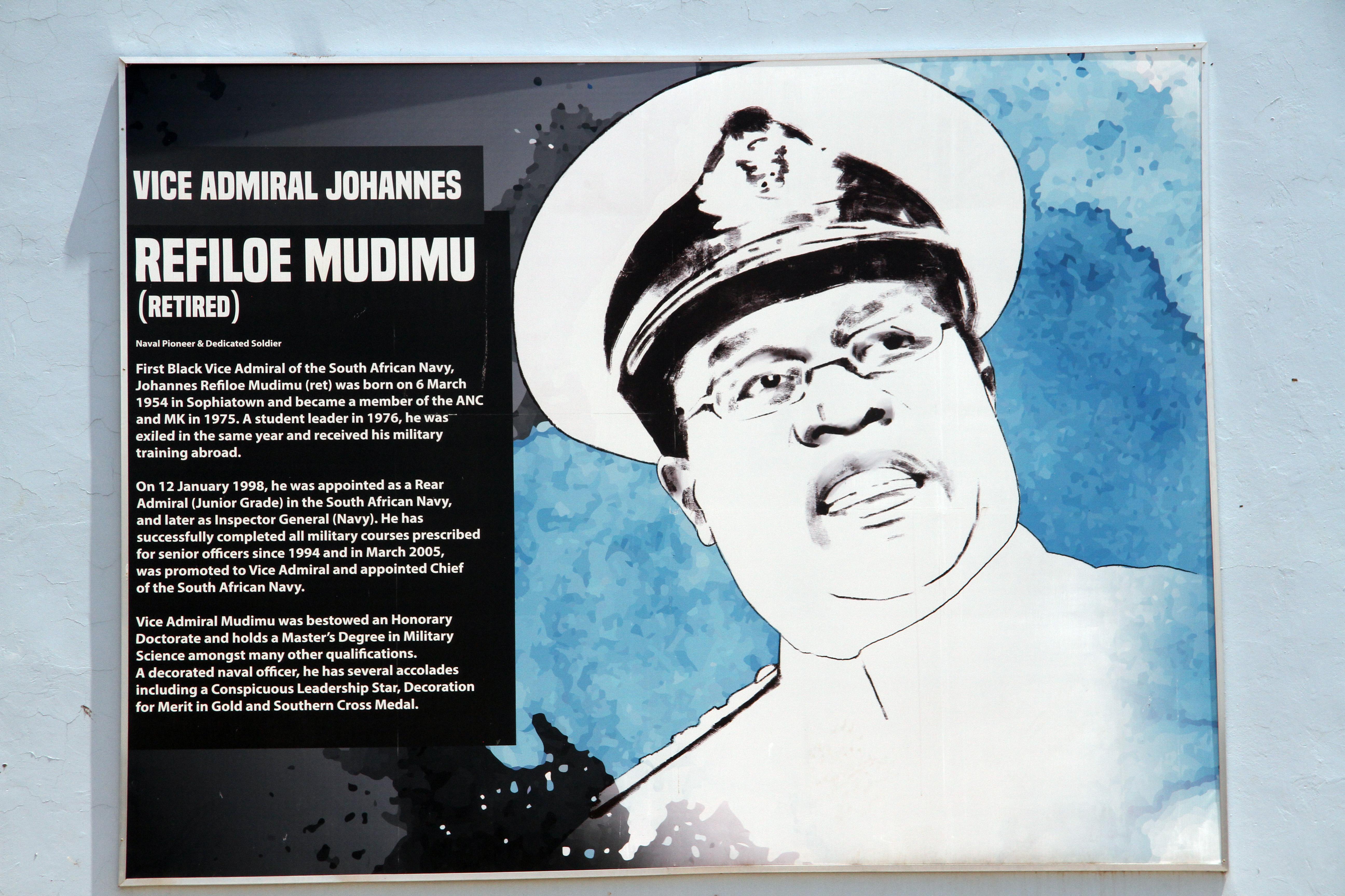 Ret. Admiral Johannes