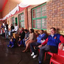 Teachers during Goliath & Goliath visit