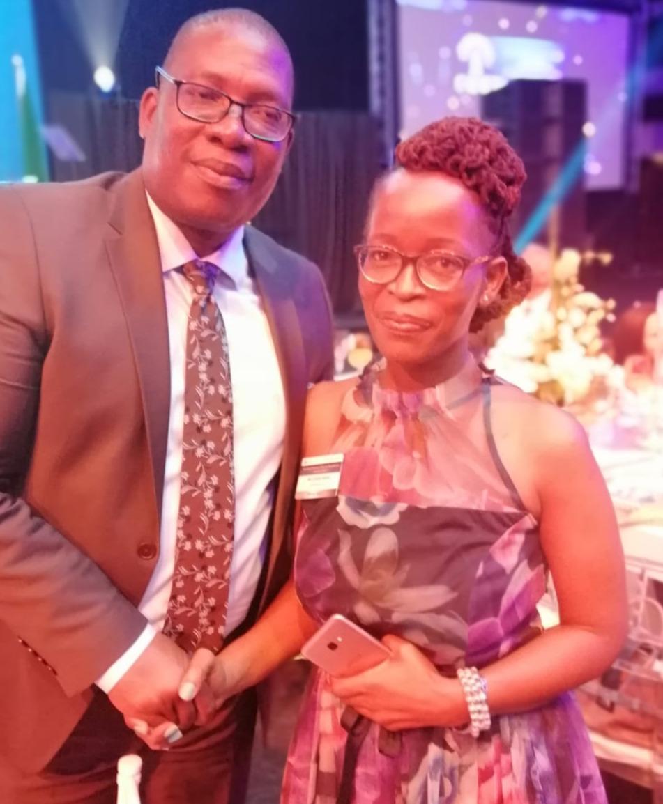 MEC P. Lusefi with Mrs