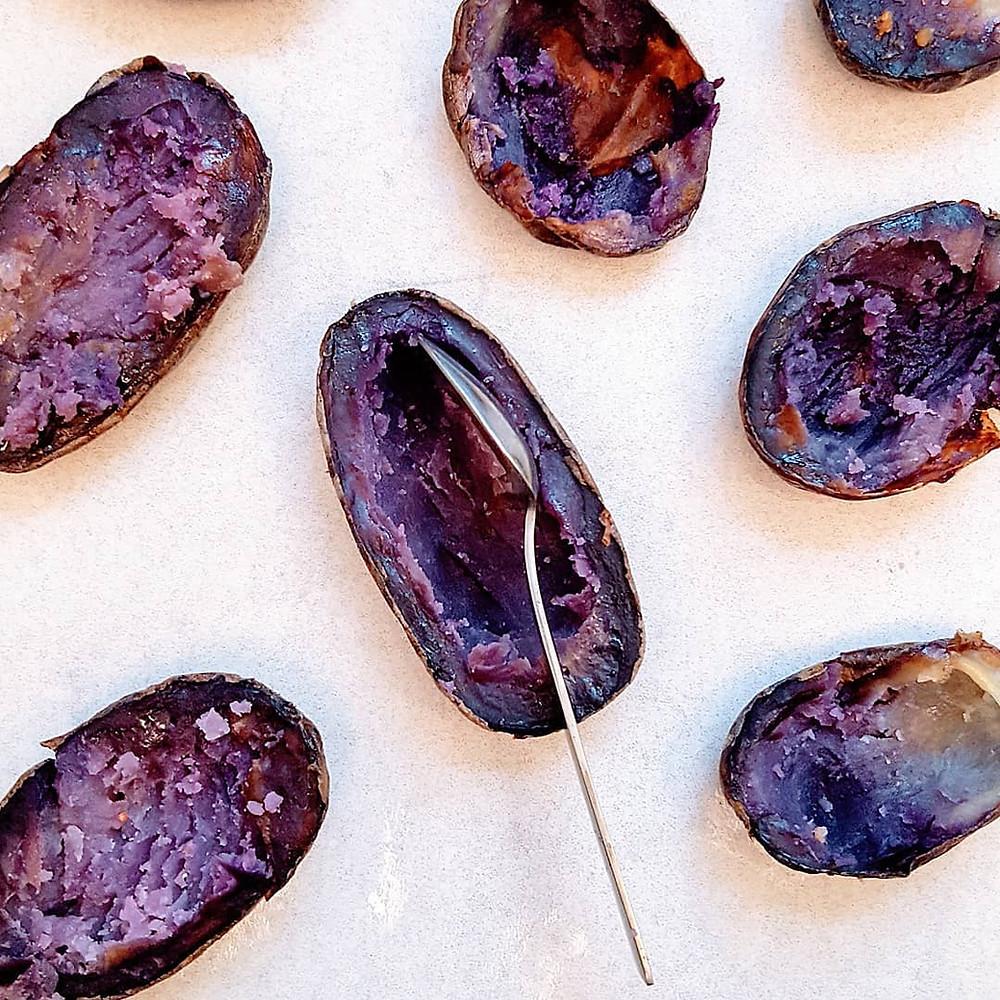 תפוחי אדמה בתנור. צילום וסטיילינג: יפית בן מרדכי
