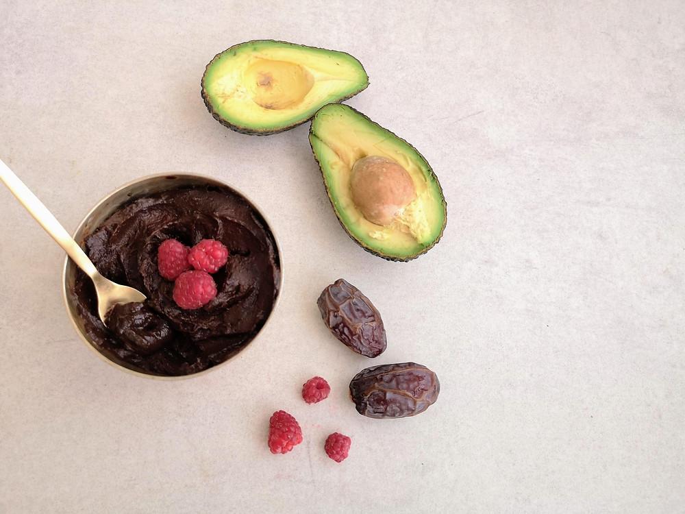 מוס שוקולד מאבוקדו