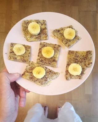 עז'ה בננה - ארוחת בוקר דיאטטית וטעימה