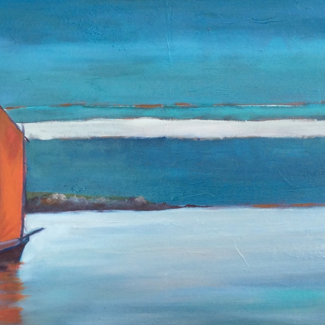 VOILE ROUGE, 60x30