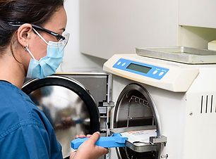 Sterilisation at Lotus Dental