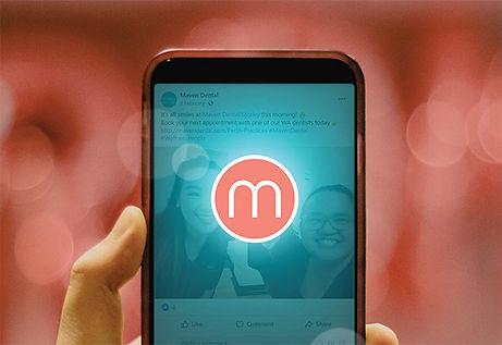 Australian Dentist collaborating through Mobile app at Maven Dental | Dentist Jobs Australia