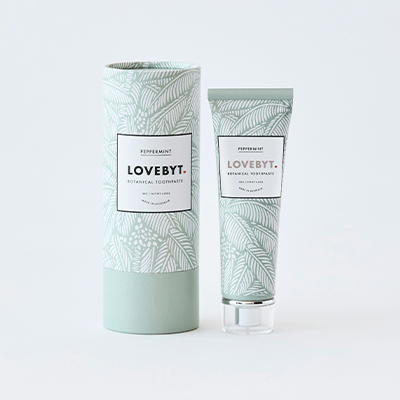 LoveByt Toothpaste - Peppermint