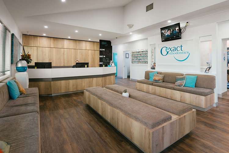Exact Orthodontics, Indooroopilly Reception | Orthodontist Brisbane