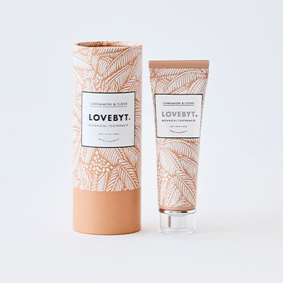 LoveByt Toothpaste - Cinnamon & Clove