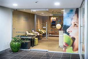 The entry to the Lotus Dental practice