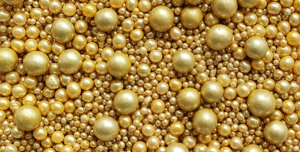 Gold Metallic Sparkling Sprinkle Blend