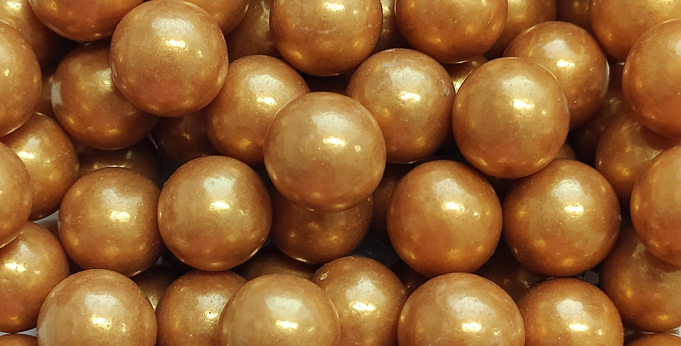 14mm Nugget Gold Sprinkle Pearls, Cachous, Candy beads, Basics
