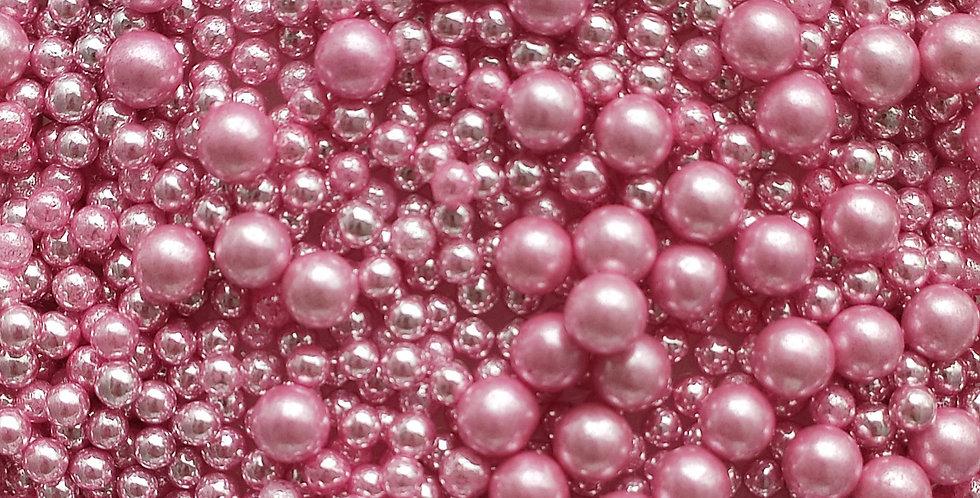 Pink Metallic Sparkling Sprinkle Blend