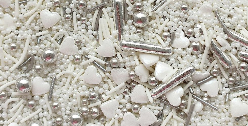 I Vow, Sparkling Sprinkle Mix - Silver