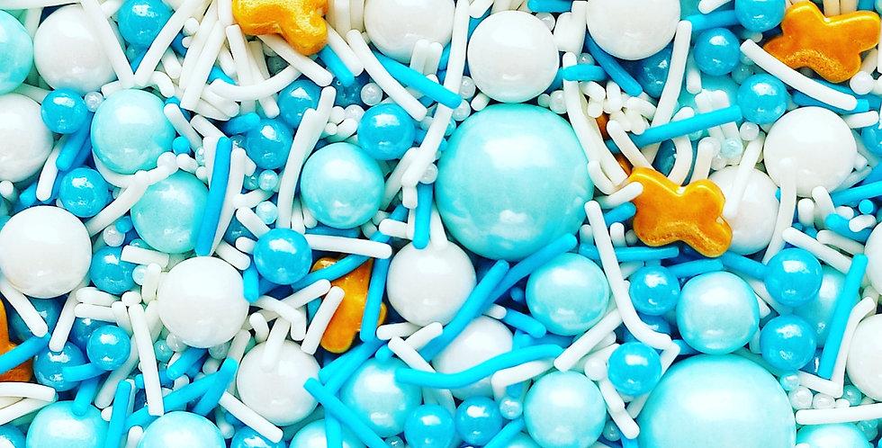 Halo-Blue Sparkling Sprinkle Mix