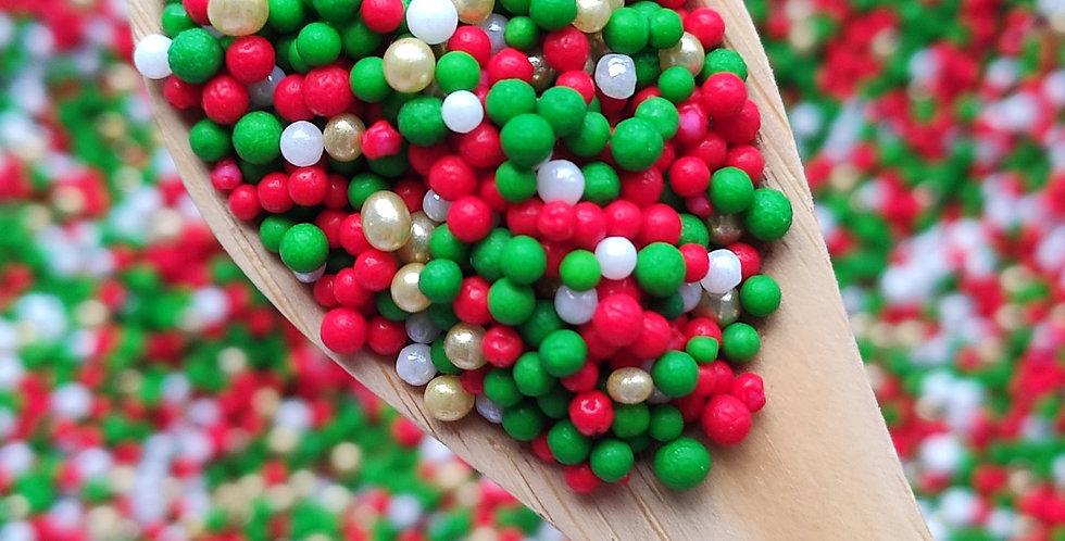 Little Christmas Sparkling Sprinkle Mix