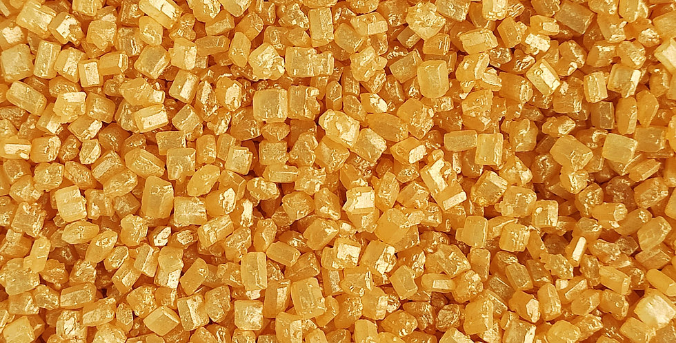 Coloured Sugar Gold Sparkling Sprinkle Mix